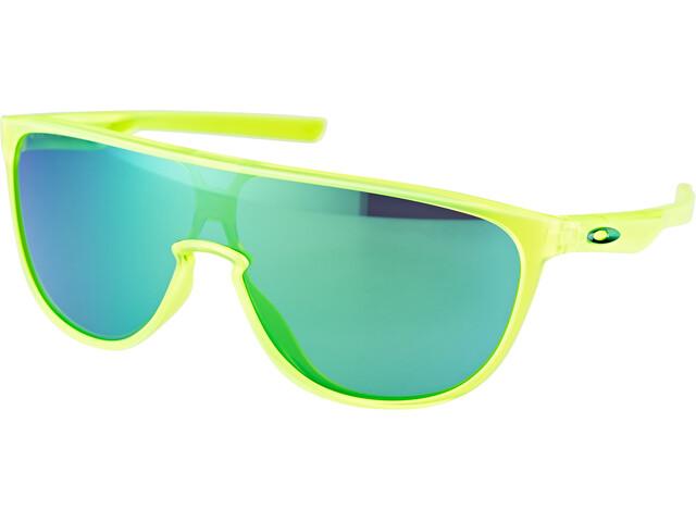 Oakley Trillbe Brillenglas Heren geel/groen